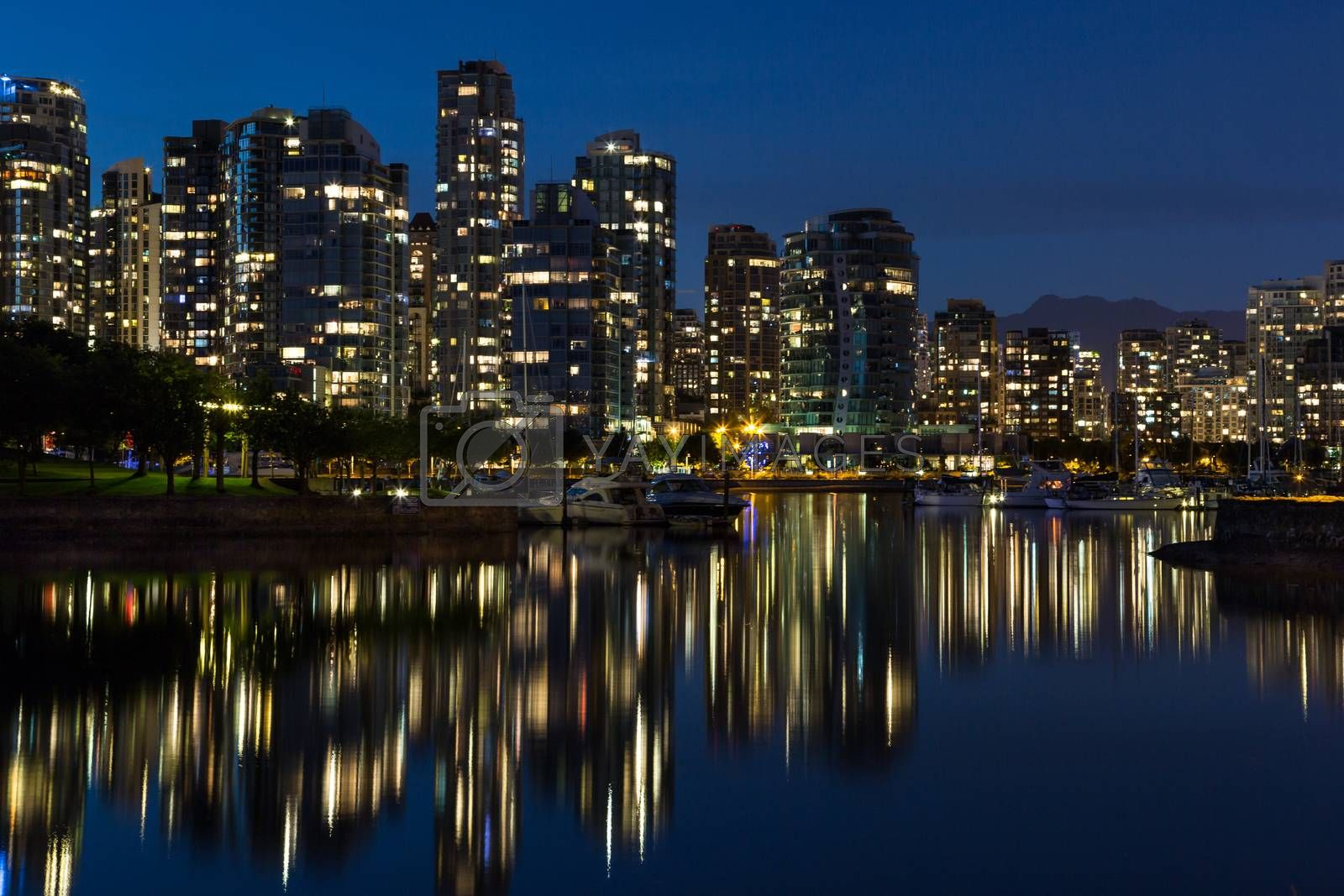 Royalty free image of Downtown Vancouver by michael_fox