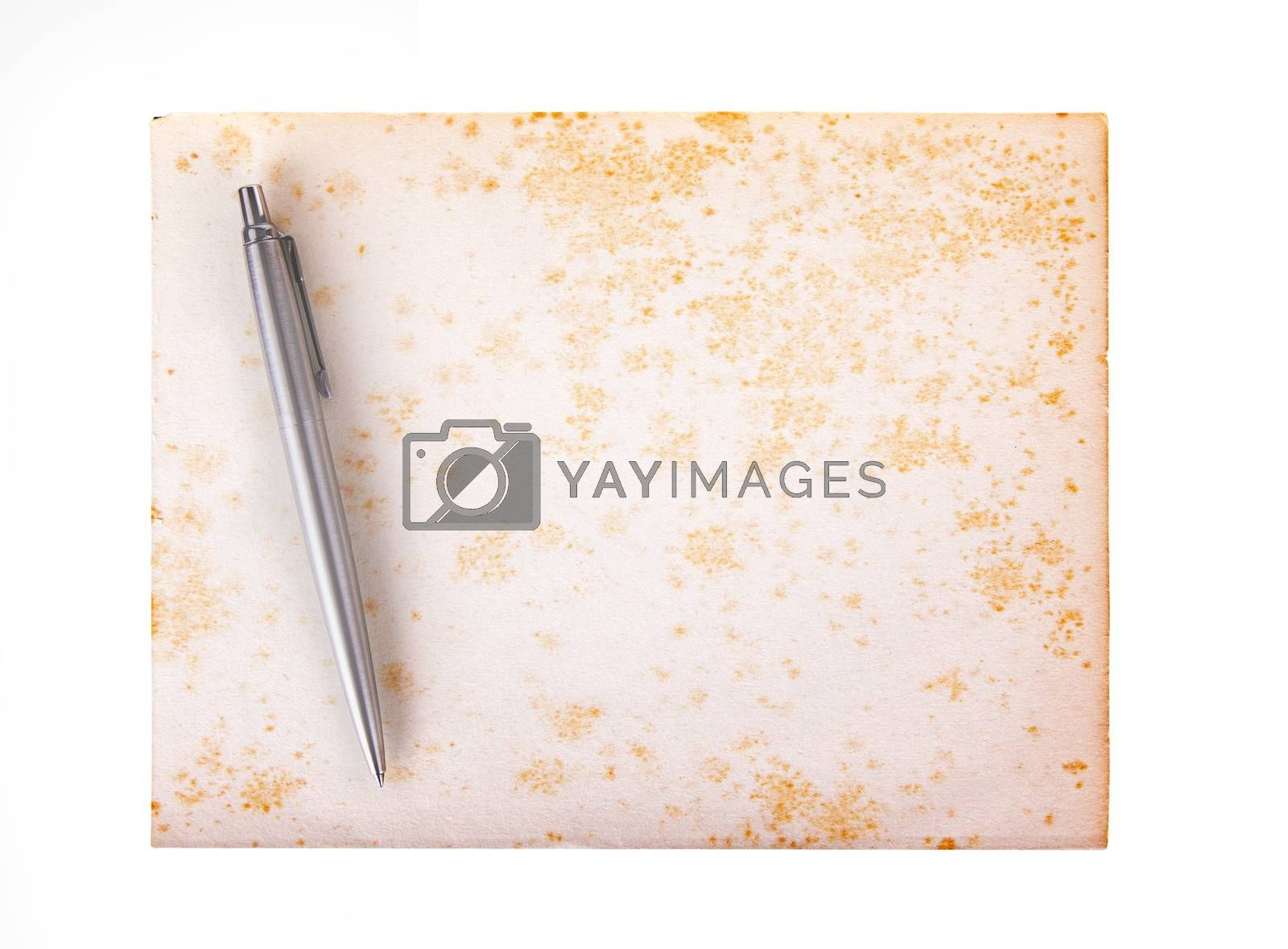 Royalty free image of Old paper grunge background by michaklootwijk