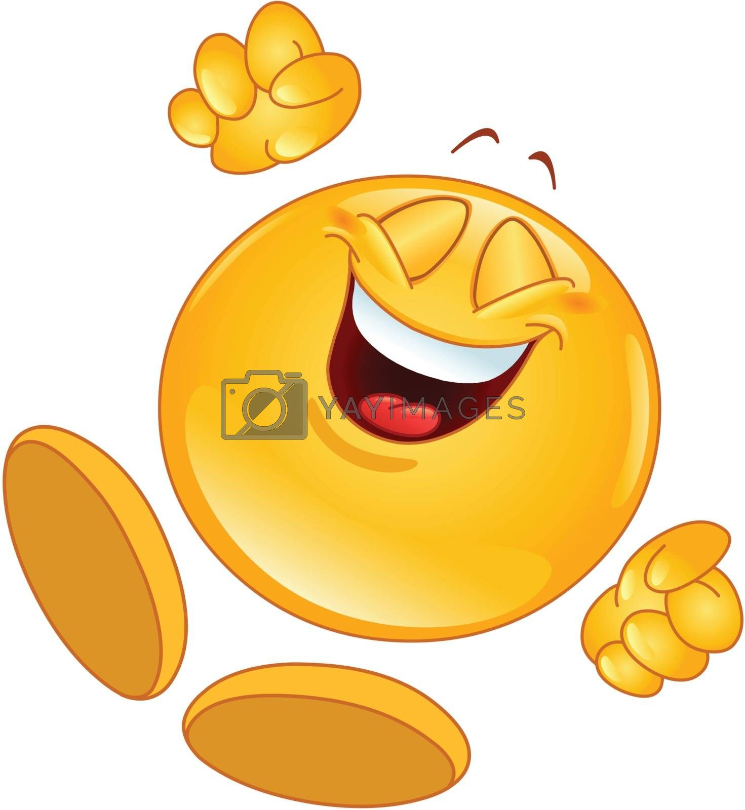 Royalty free image of Cheerful emoticon by yayayoyo