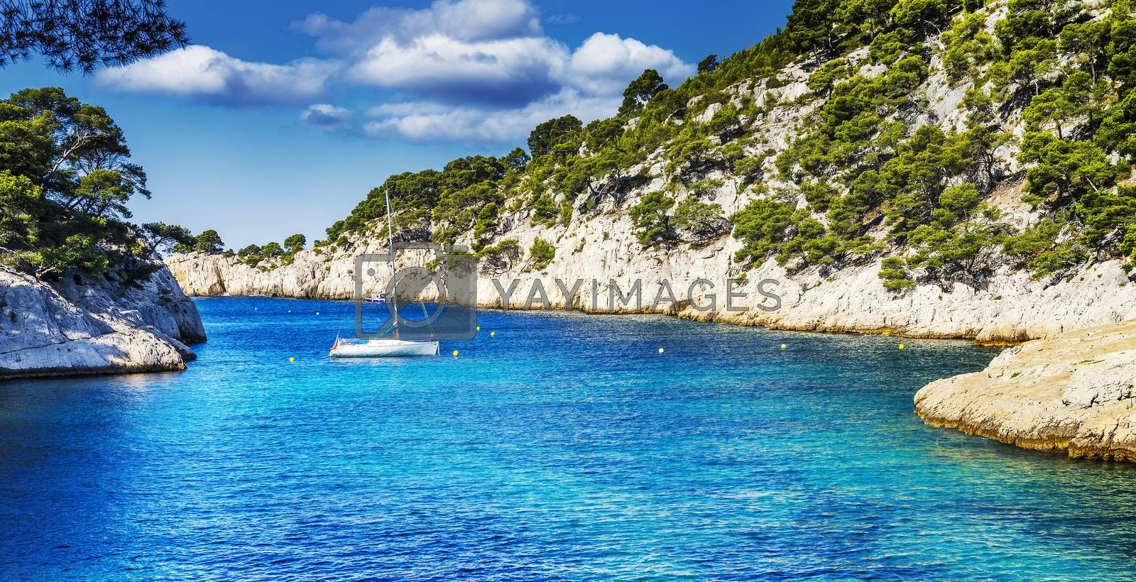Royalty free image of calanque  of Cassis by ventdusud