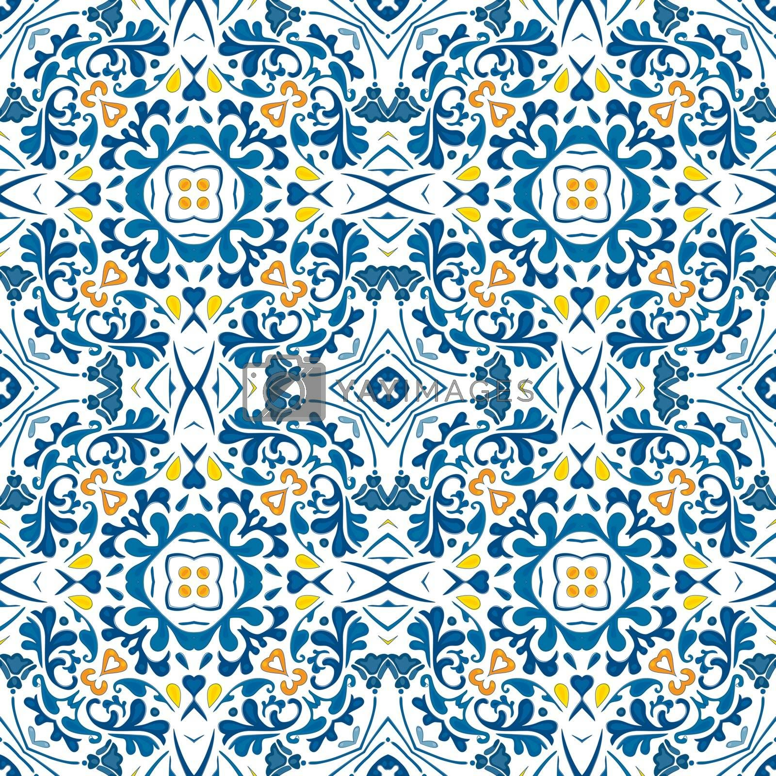 Royalty free image of Portuguese tiles by nahhan