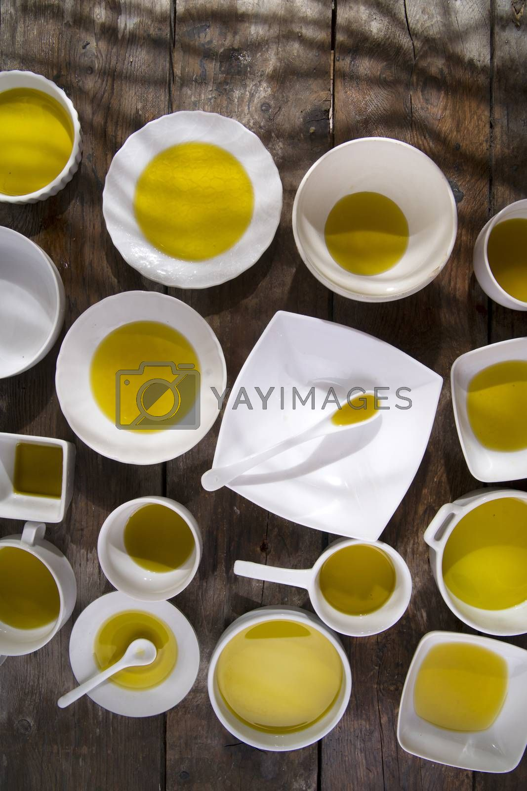 Royalty free image of Extra virgin olive oil  by marcoguidiph