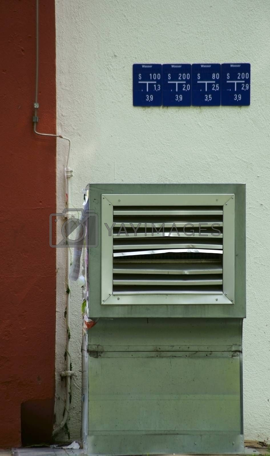 Royalty free image of Ventilation hood by ginton