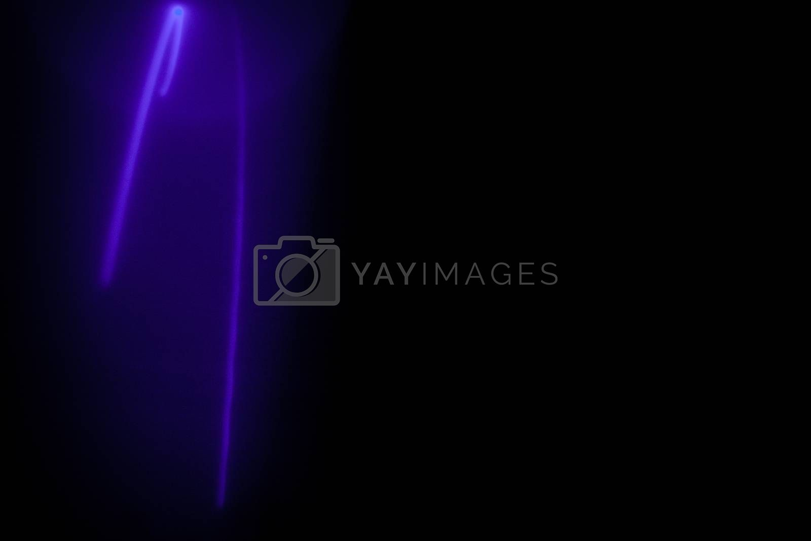 Royalty free image of Purple lines by betweenthecircles