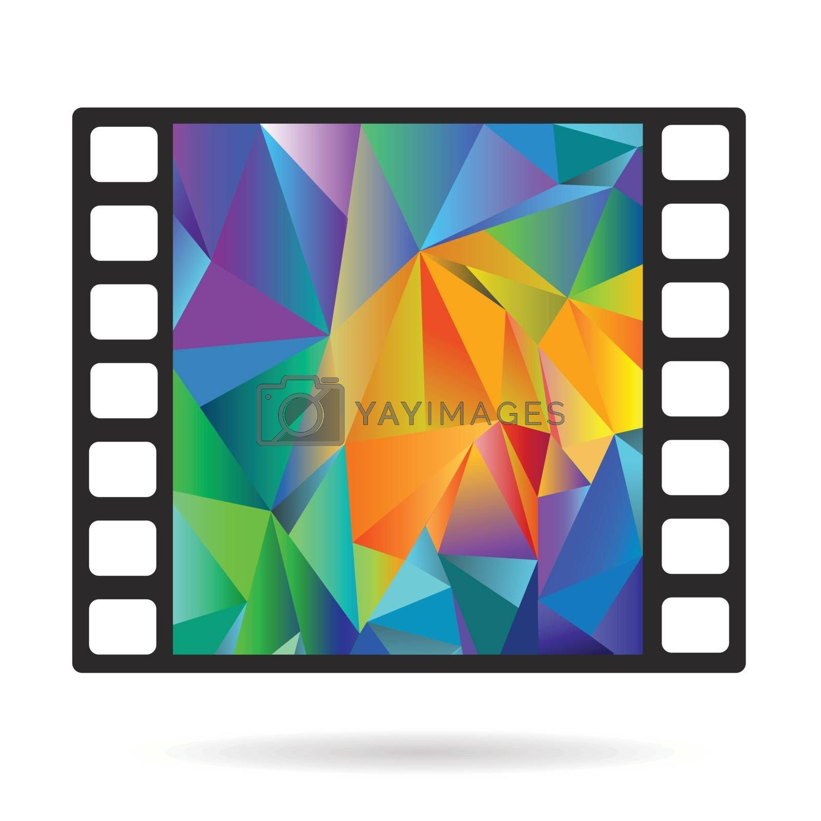 Royalty free image of Old film strip by valeo5