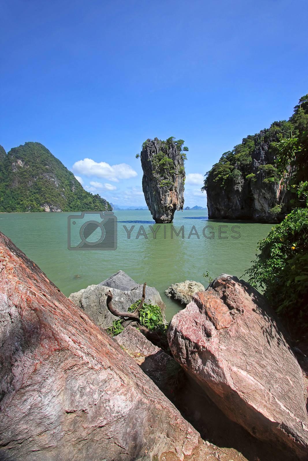 Royalty free image of James Bond Island by zhannaprokopeva
