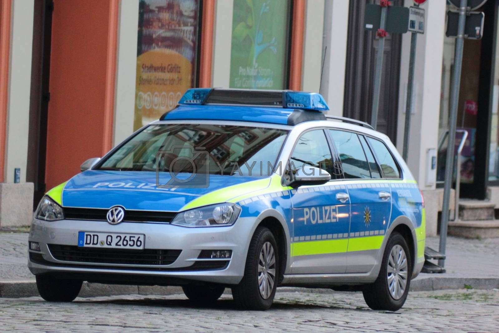 Royalty free image of Police in Germany by oxygen64