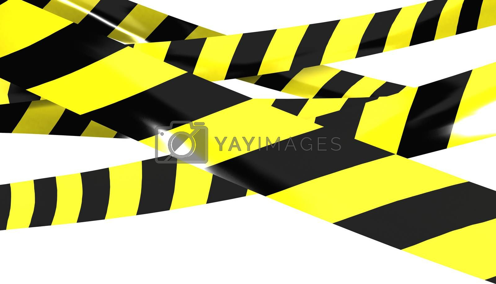 Royalty free image of Barrier tape. by klss
