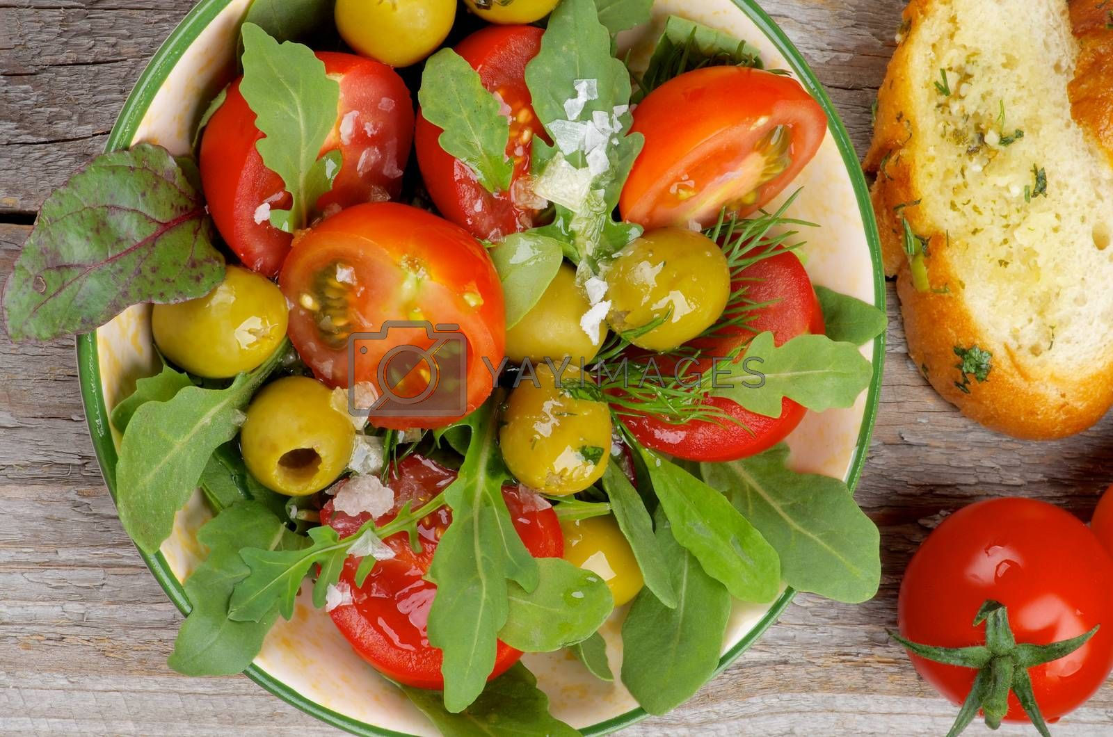 Royalty free image of Tomatoes Salad by zhekos