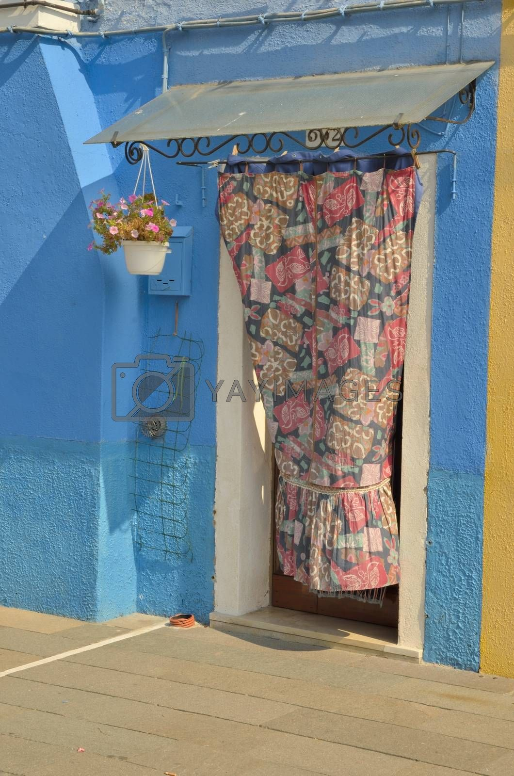 Royalty free image of Blue house by monysasi