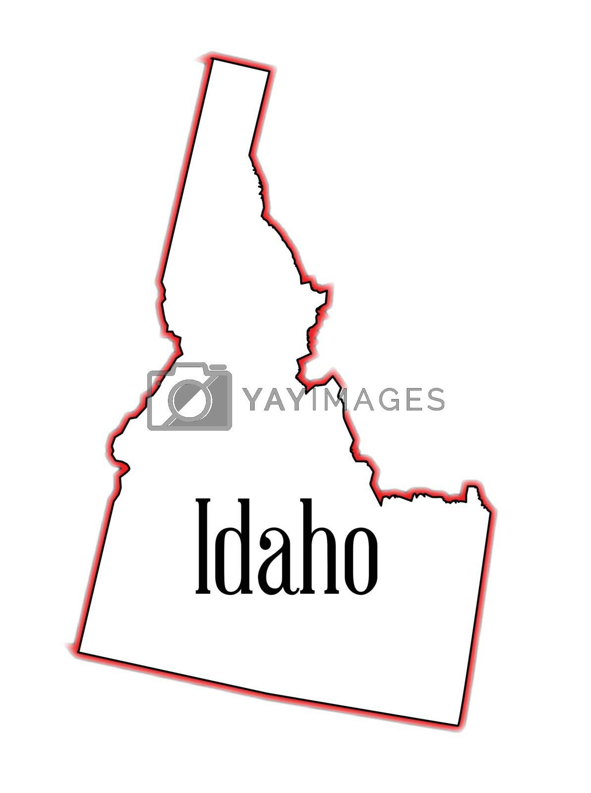 Royalty free image of Idaho by Bigalbaloo
