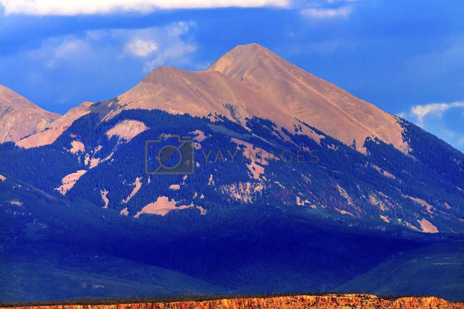 Royalty free image of La Salle Mountains Rock Canyon Arches National Park Moab Utah  by bill_perry