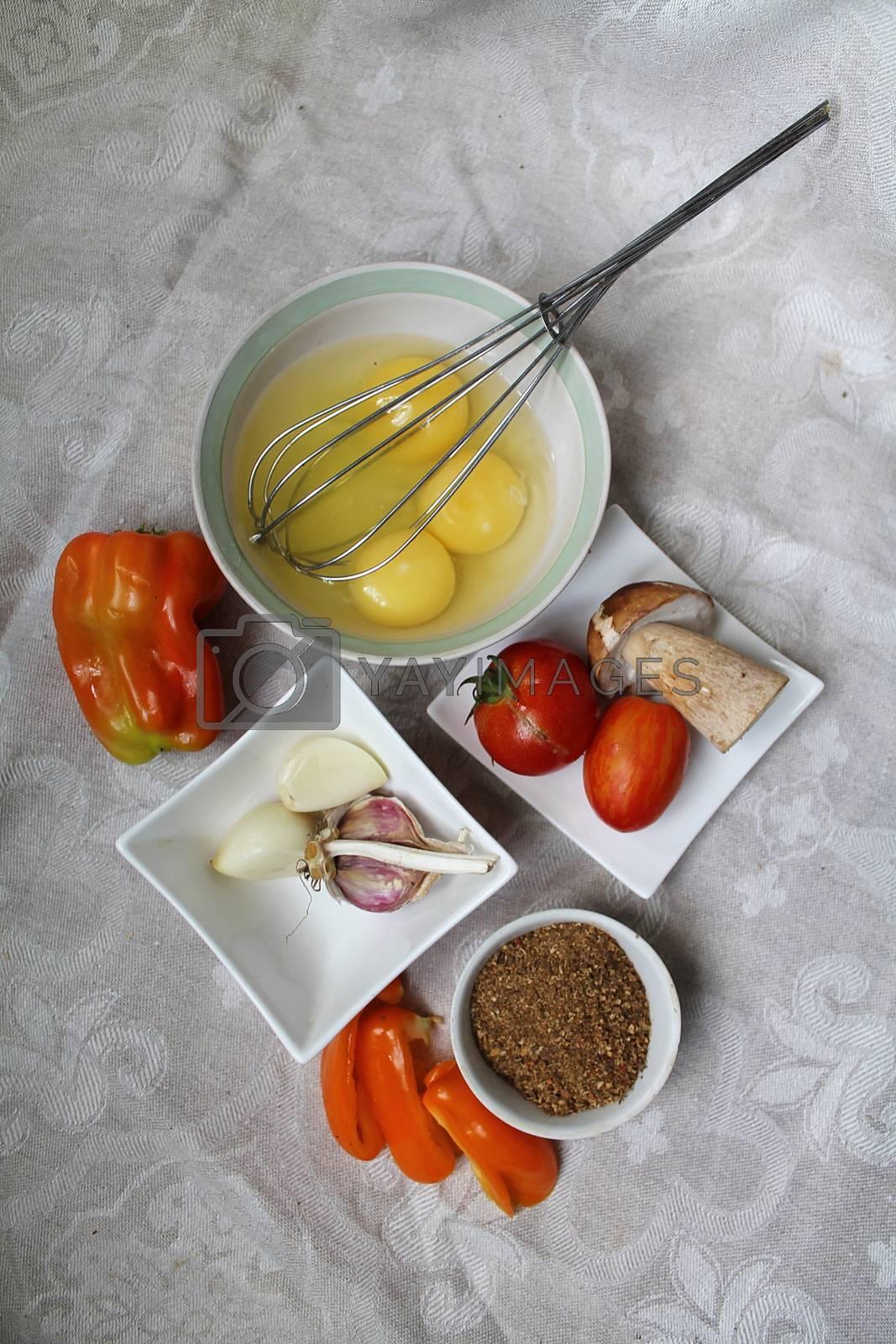 Royalty free image of Ingredients for breakfast by Niridaclam