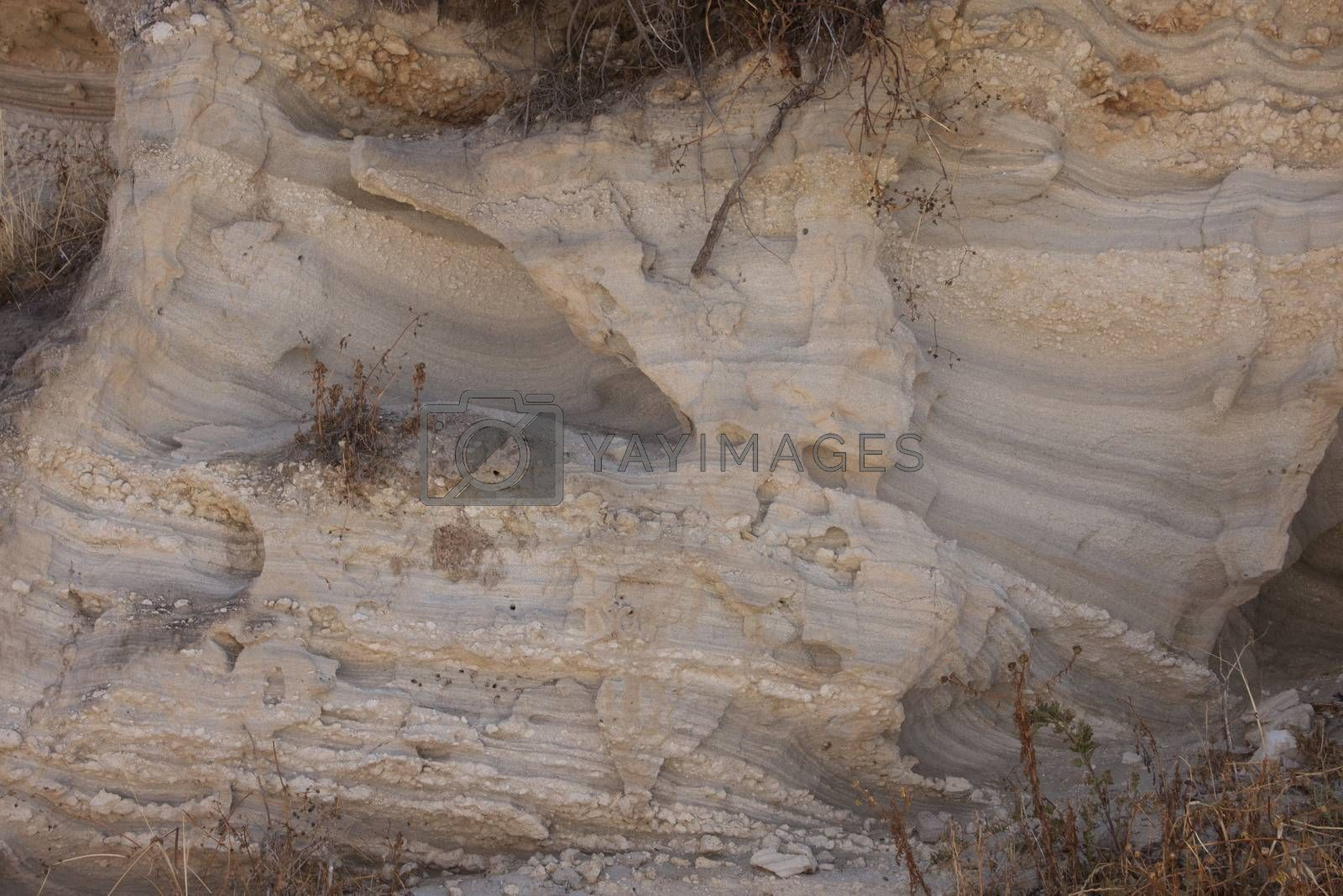 Royalty free image of Texture of a sandstone by Arsen