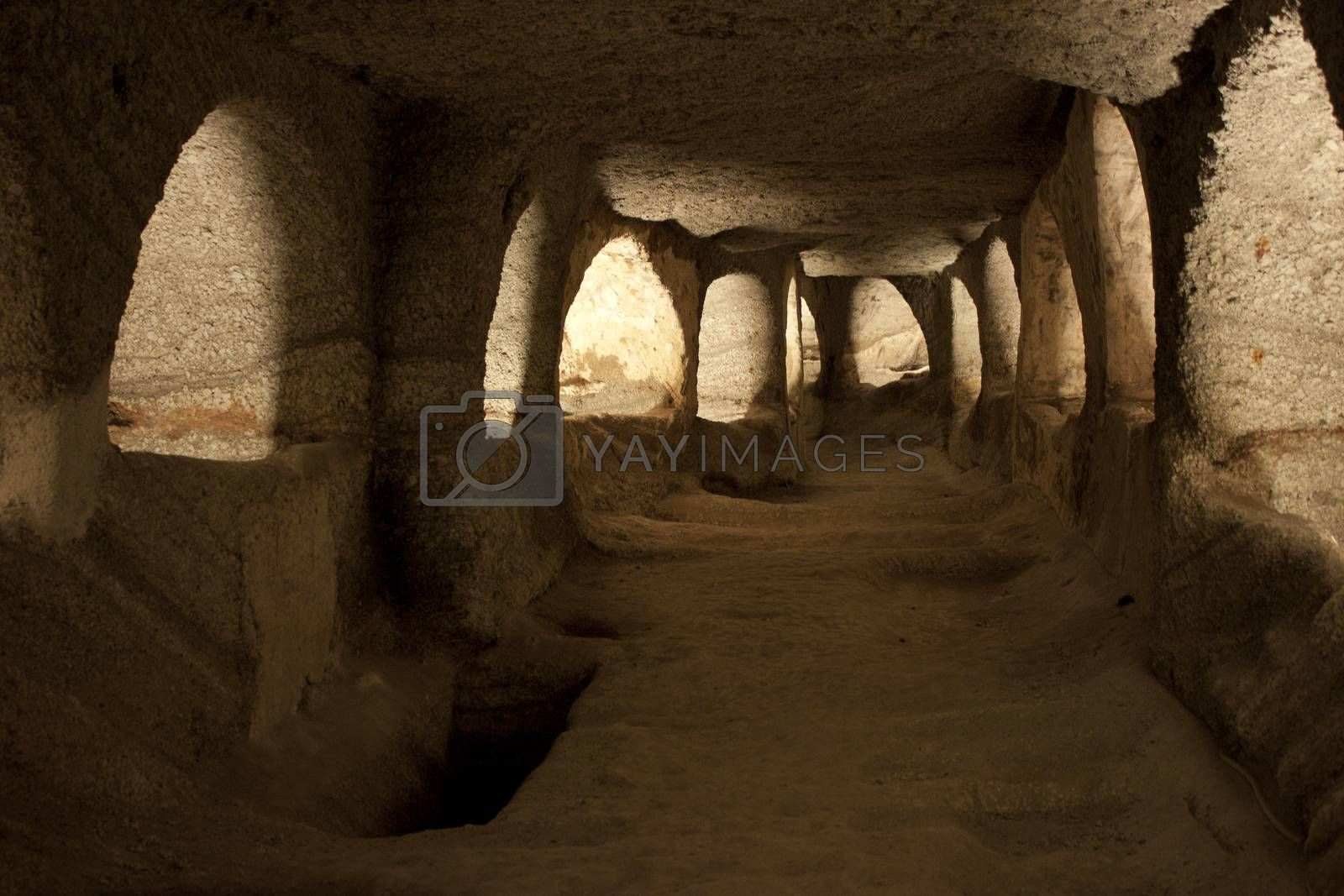 Royalty free image of Catacombs by Arsen