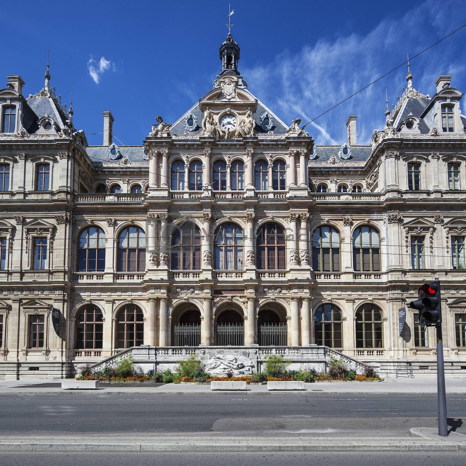 Royalty free image of Palais de la bourse by vwalakte