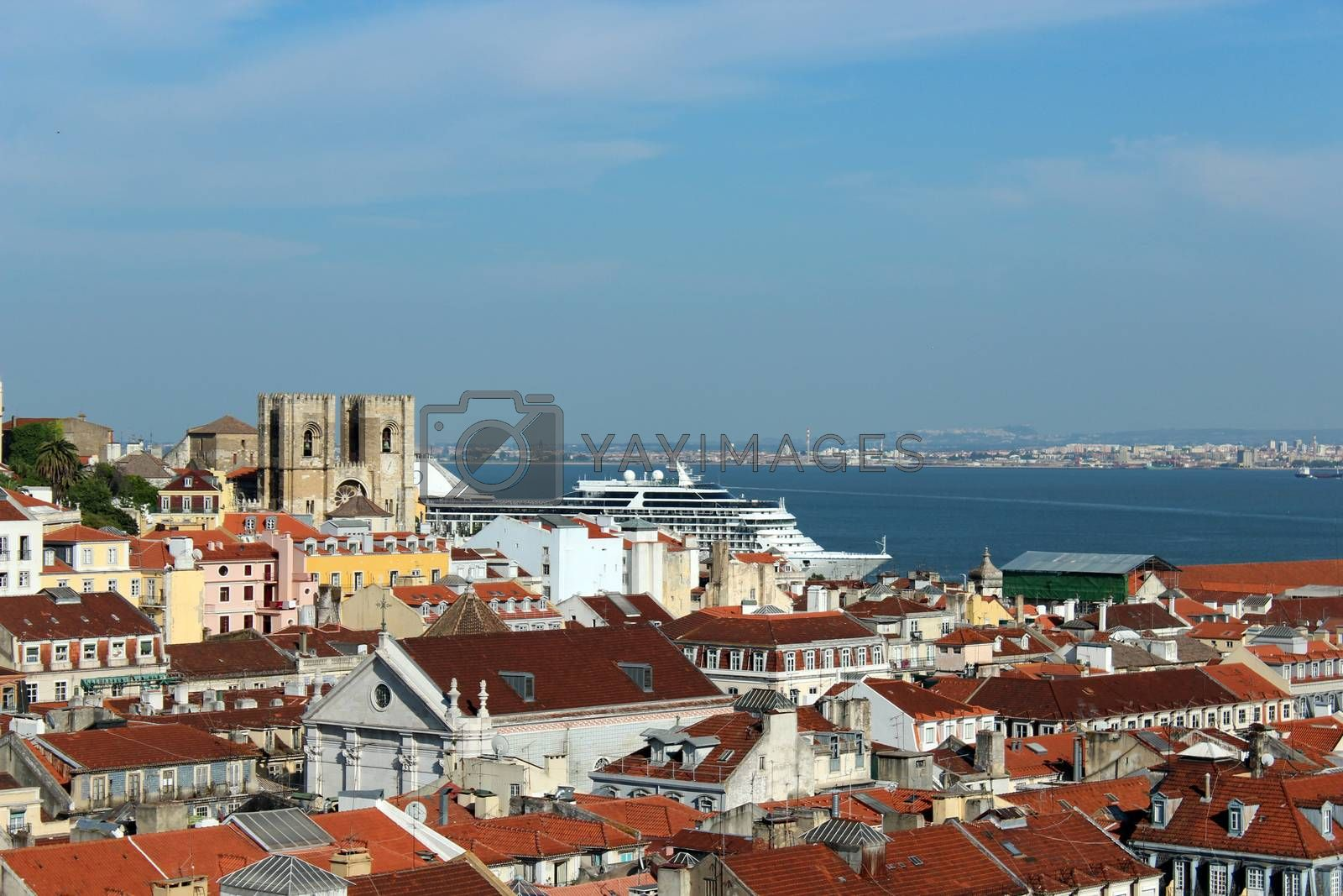 Royalty free image of Lisbon view by aamulya