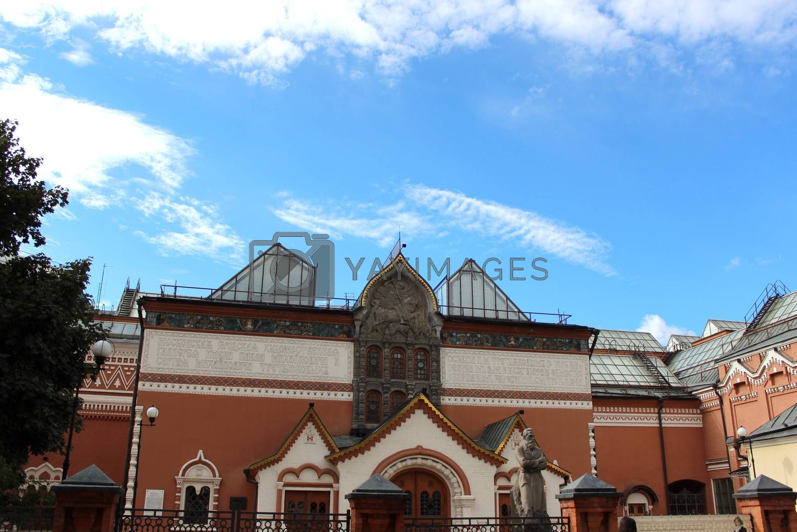 Royalty free image of Tretyakov gallery, Moscow, Russia by aamulya