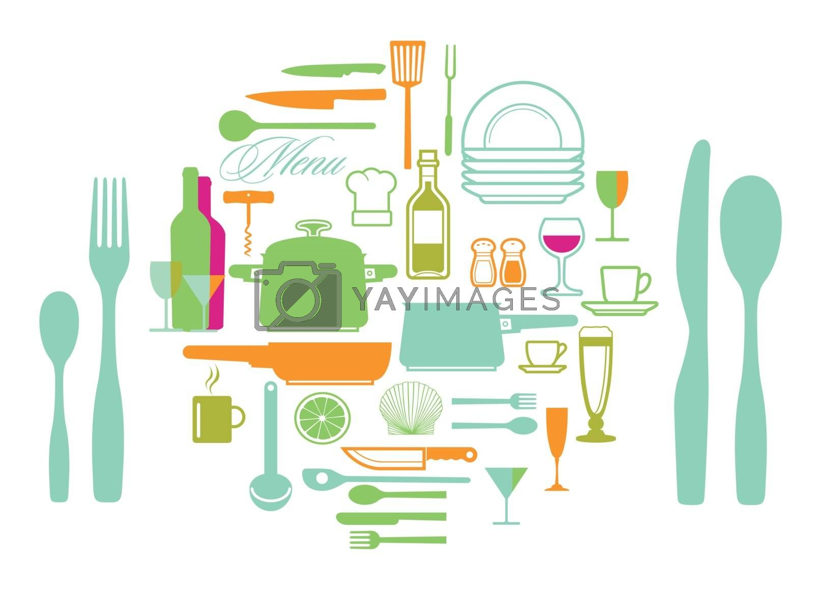 Royalty free image of Kitchen Appliances by scusi
