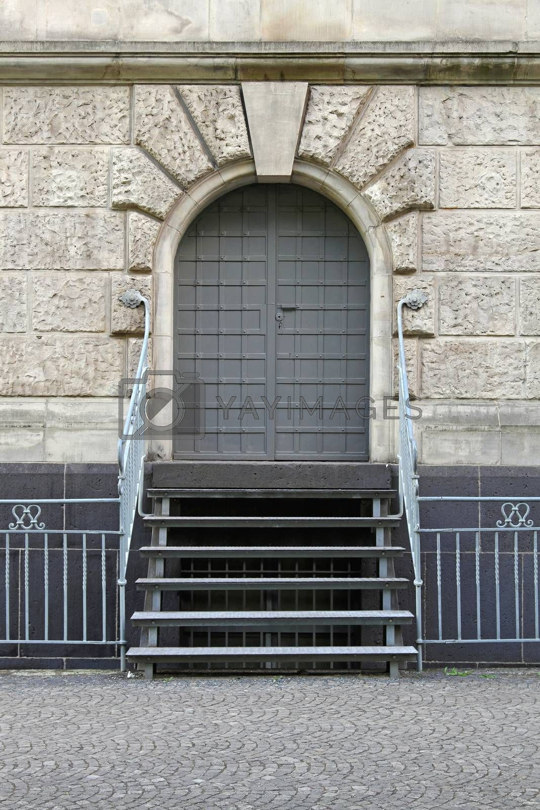 Royalty free image of Arch door by Baloncici