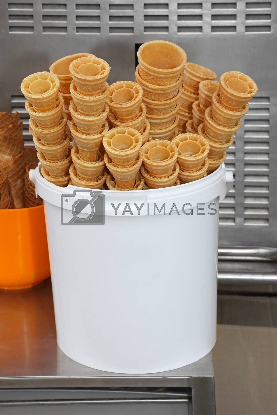 Royalty free image of Ice cream cones by Baloncici