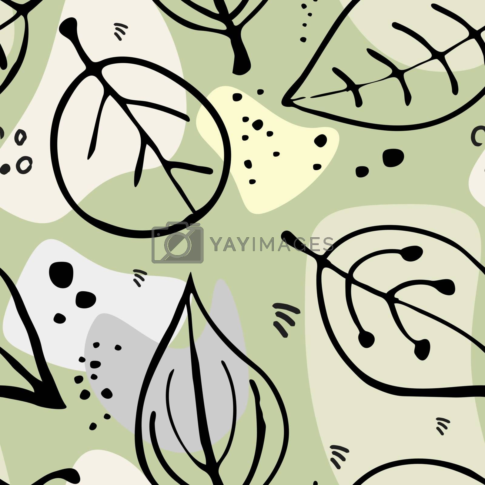 Vector seamless pattern, background texture.