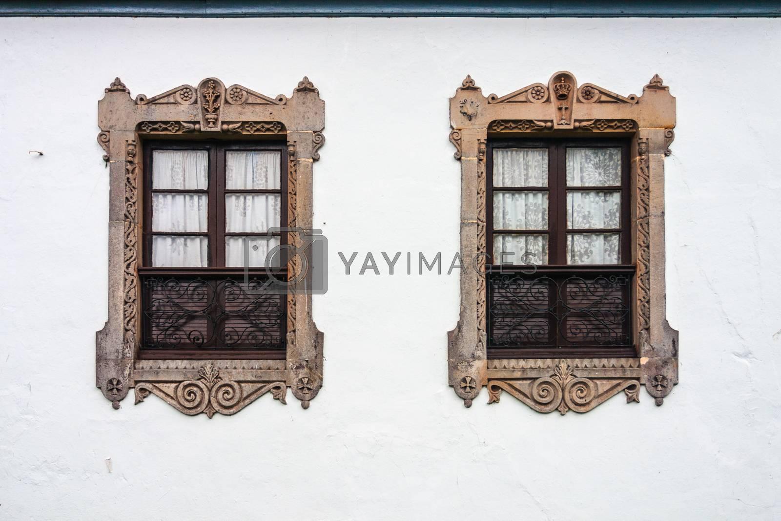 Two beautiful twin windows by imagsan