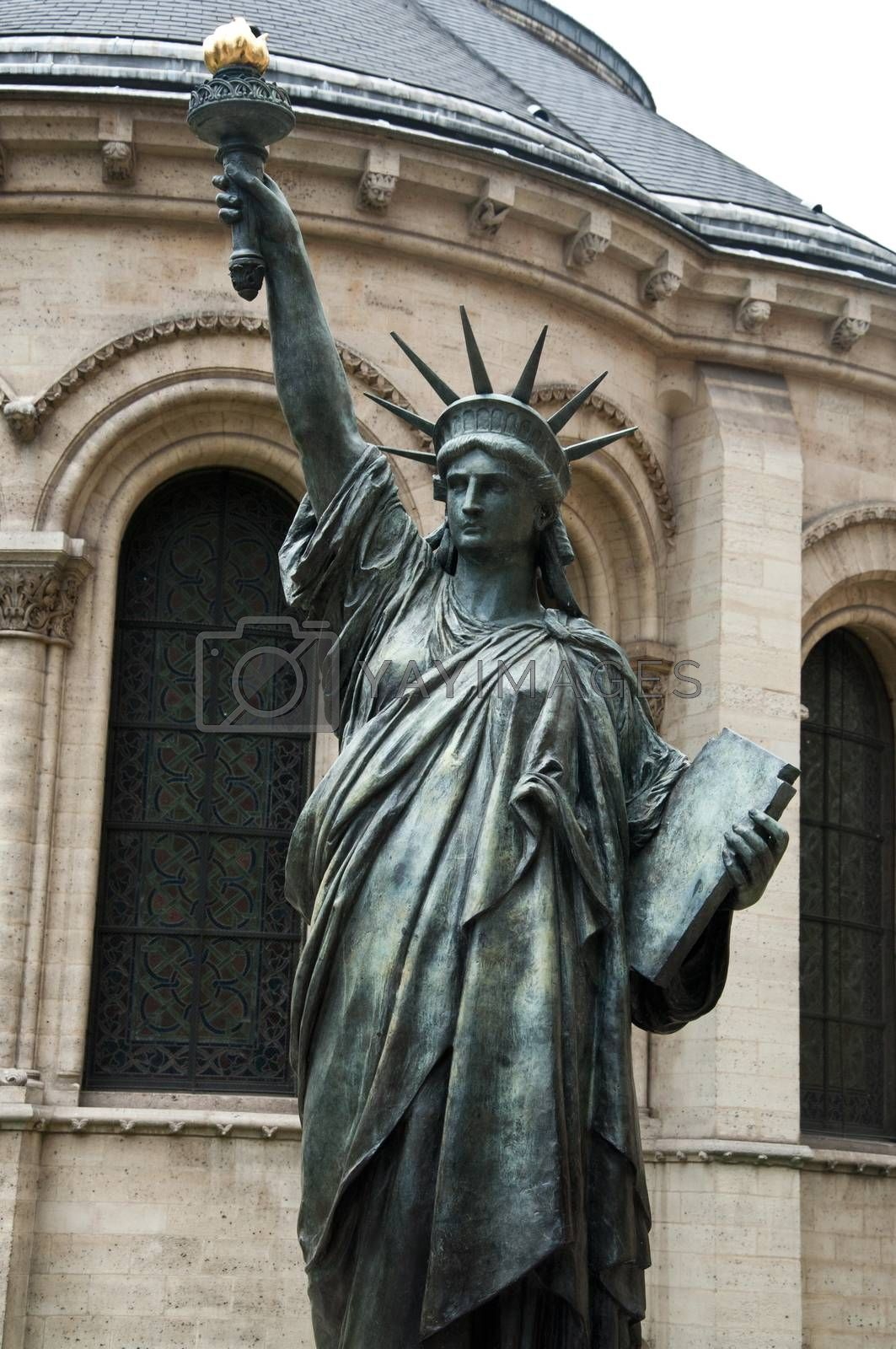 Royalty free image of Statue of Liberty in Paris by NeydtStock