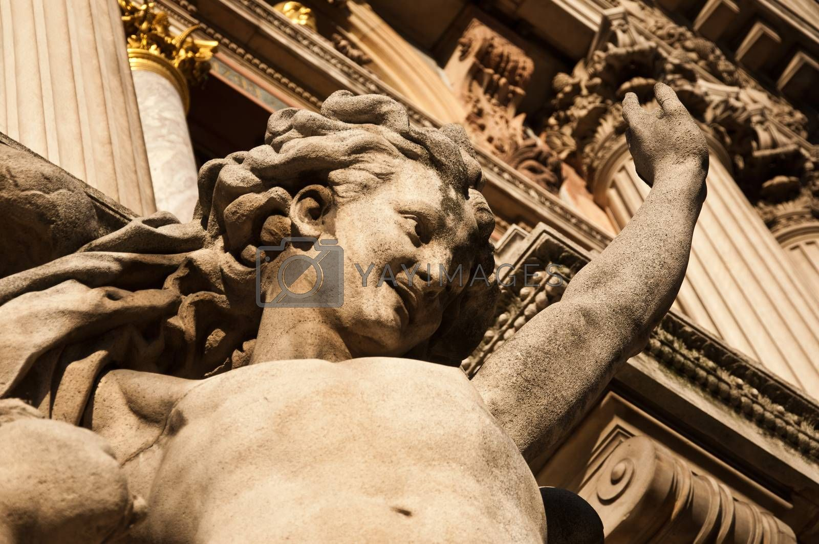 Royalty free image of Garnier Opera of Paris by NeydtStock