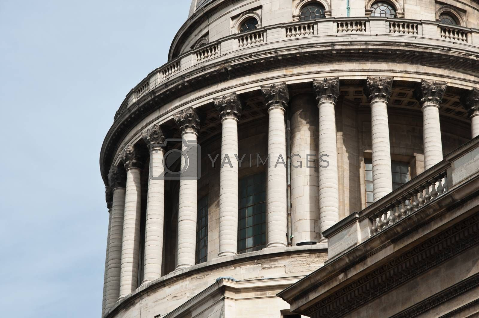 Royalty free image of Pantheon monument in Paris - France by NeydtStock