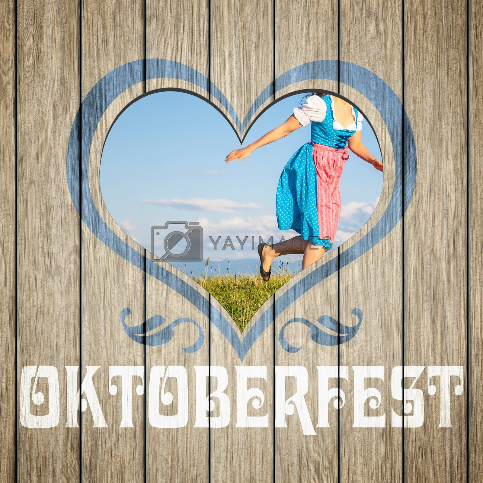 wooden heart Oktoberfest by magann