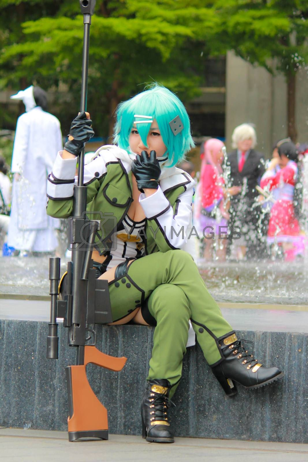 Royalty free image of Sinon  by redthirteen