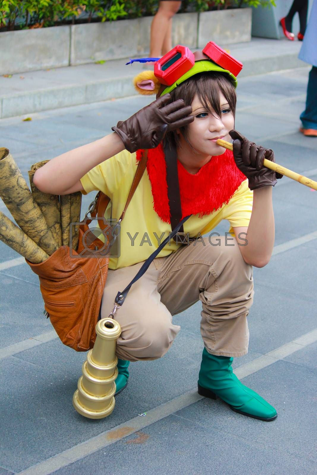 Royalty free image of Cosplay 32 by redthirteen