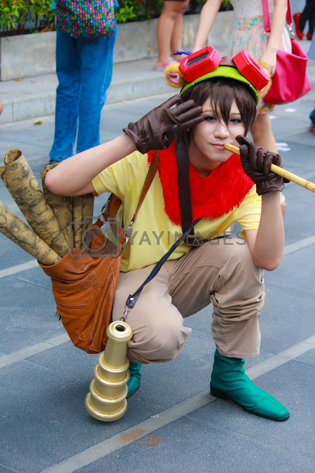 Royalty free image of Cosplay 33 by redthirteen