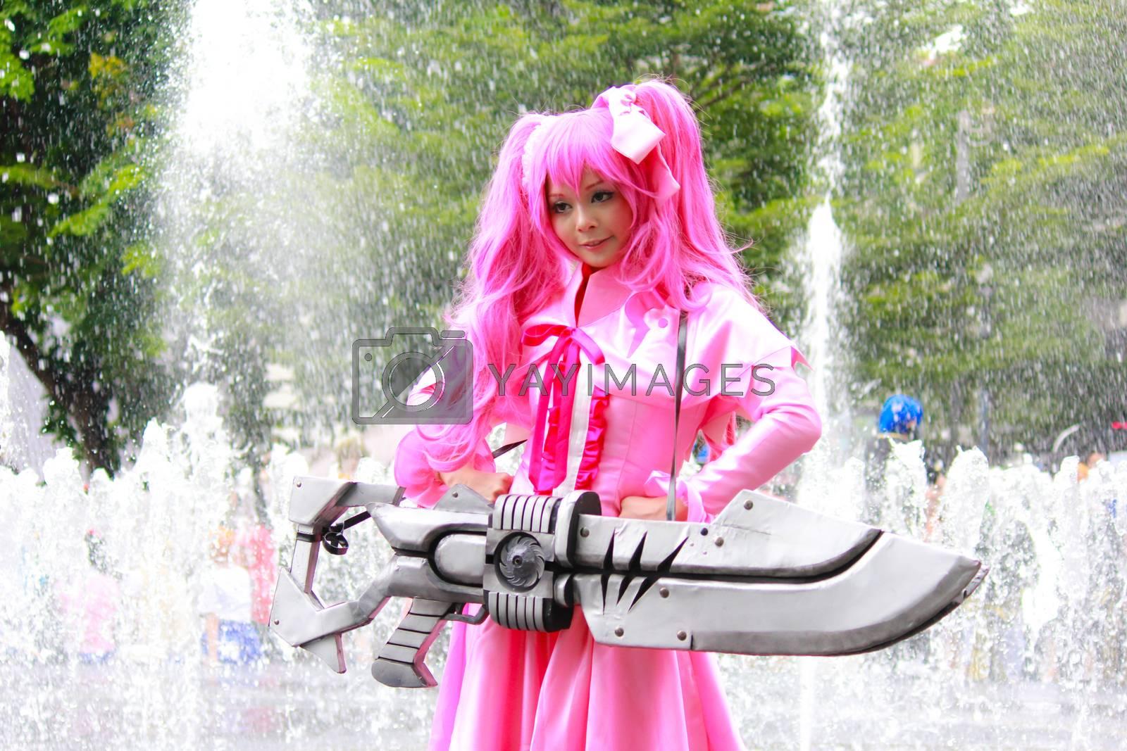 Royalty free image of Mine Akame ga kill by redthirteen