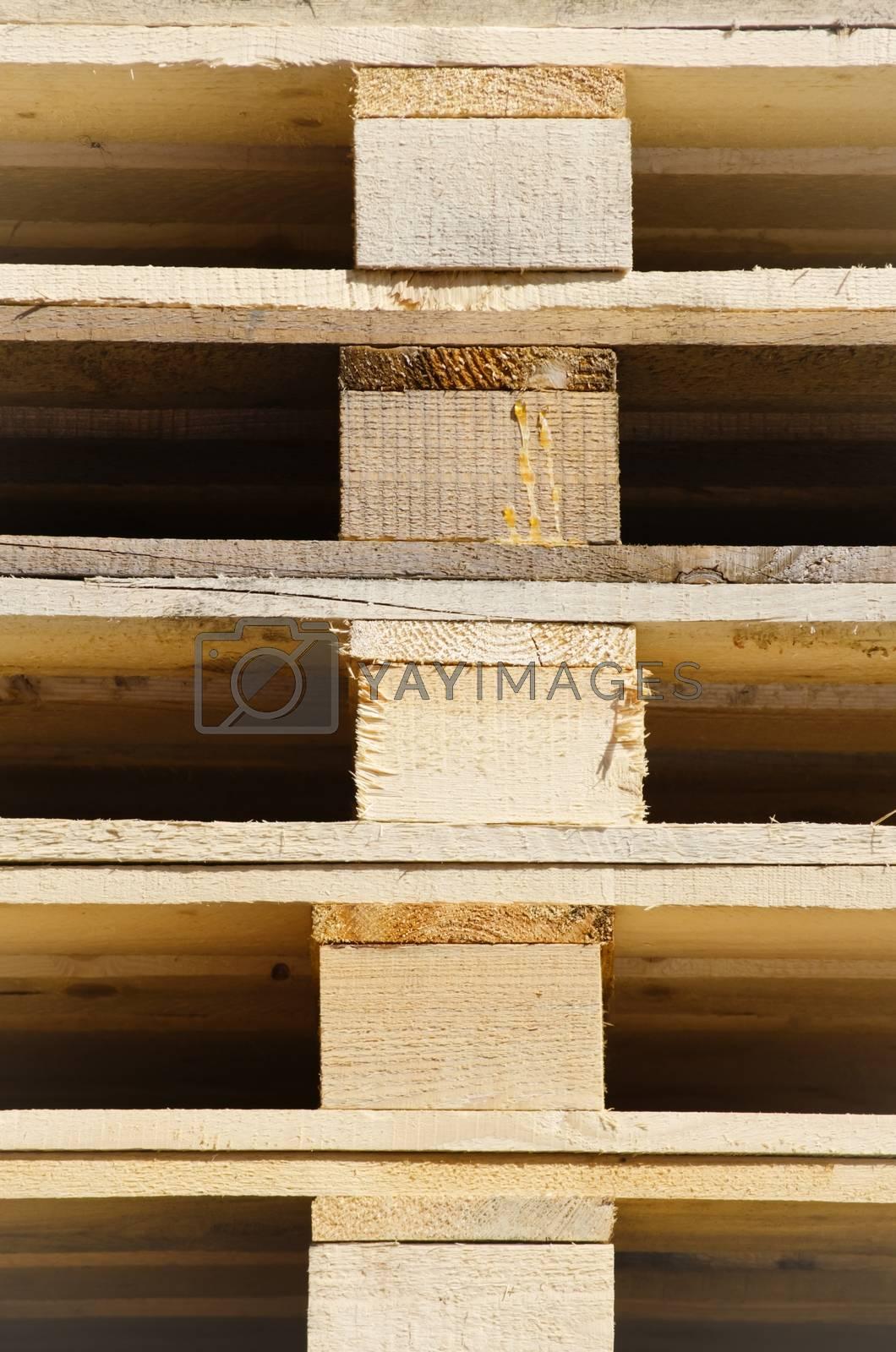 Royalty free image of Wooden Pallet by razvodovska