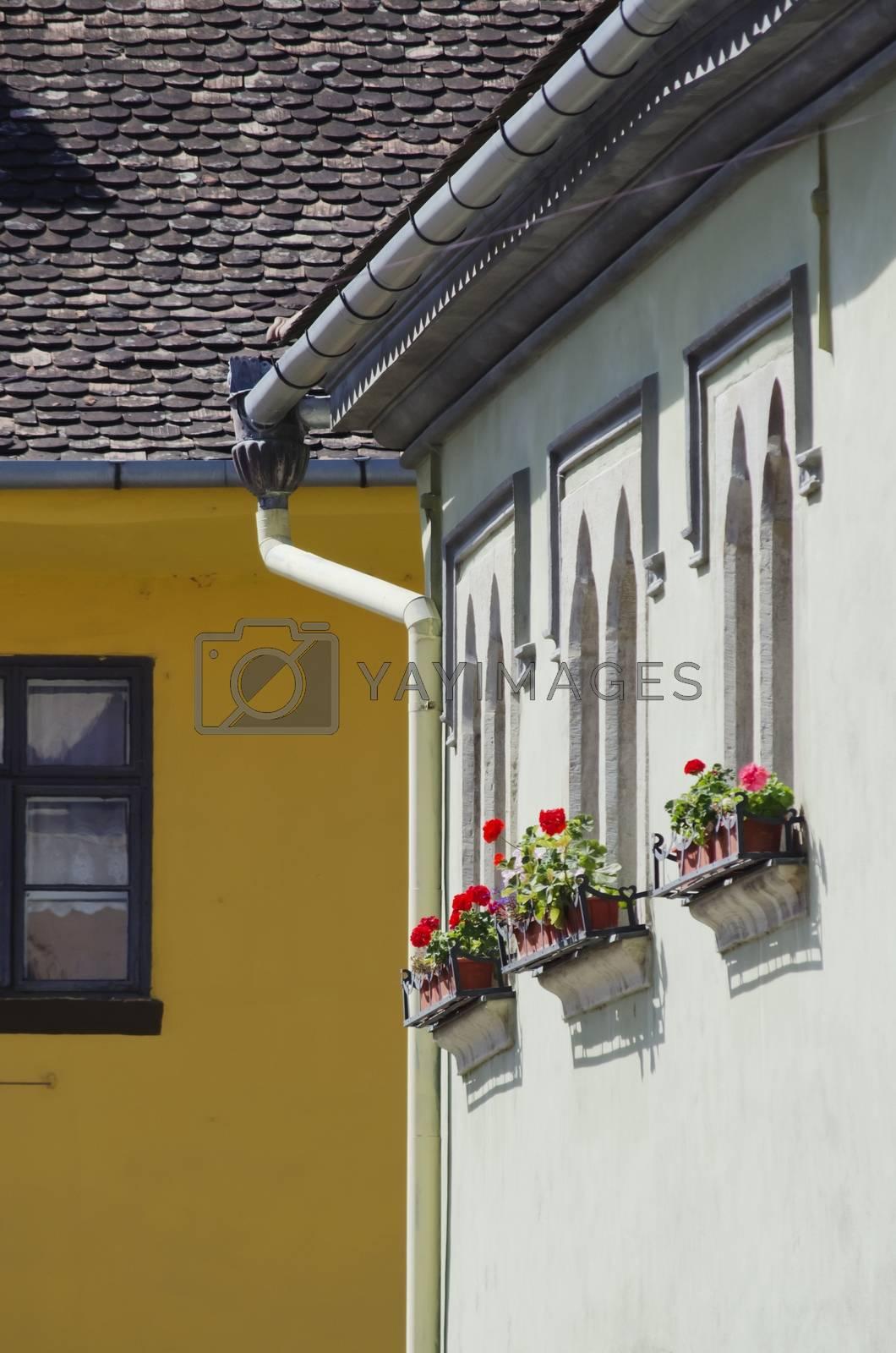 Royalty free image of Medieval Town Sighisoara Romania by razvodovska