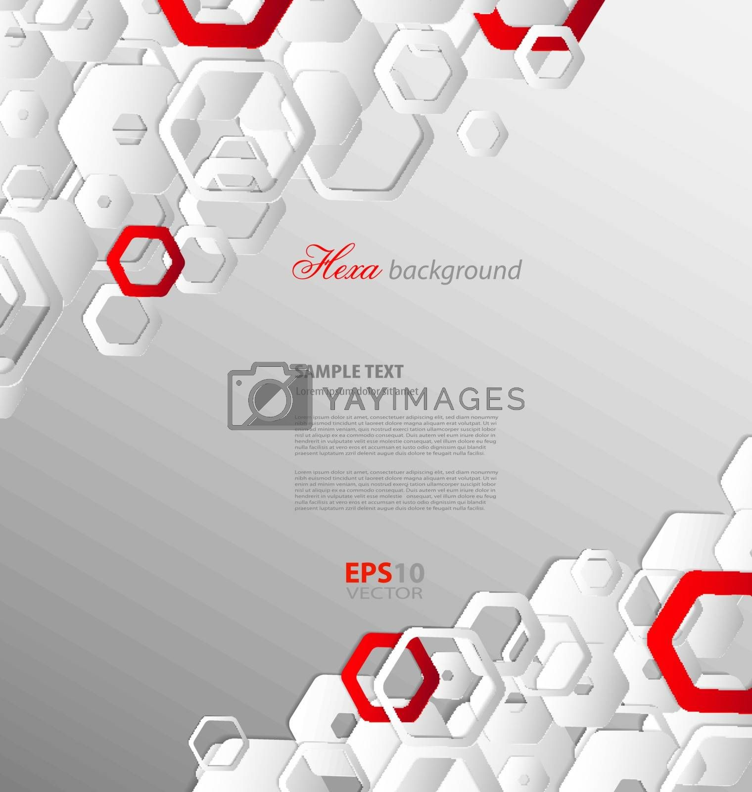 Double color abstract paper template for creative design needs