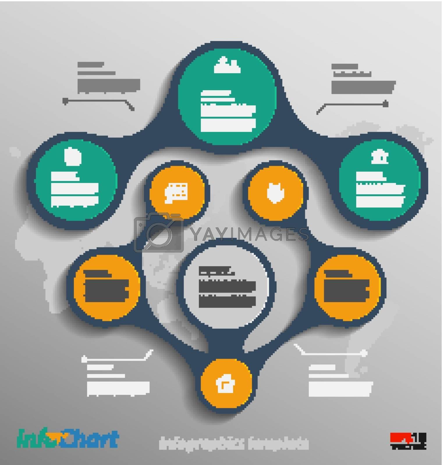 Stylized presentation,option template for multipurpose data communication