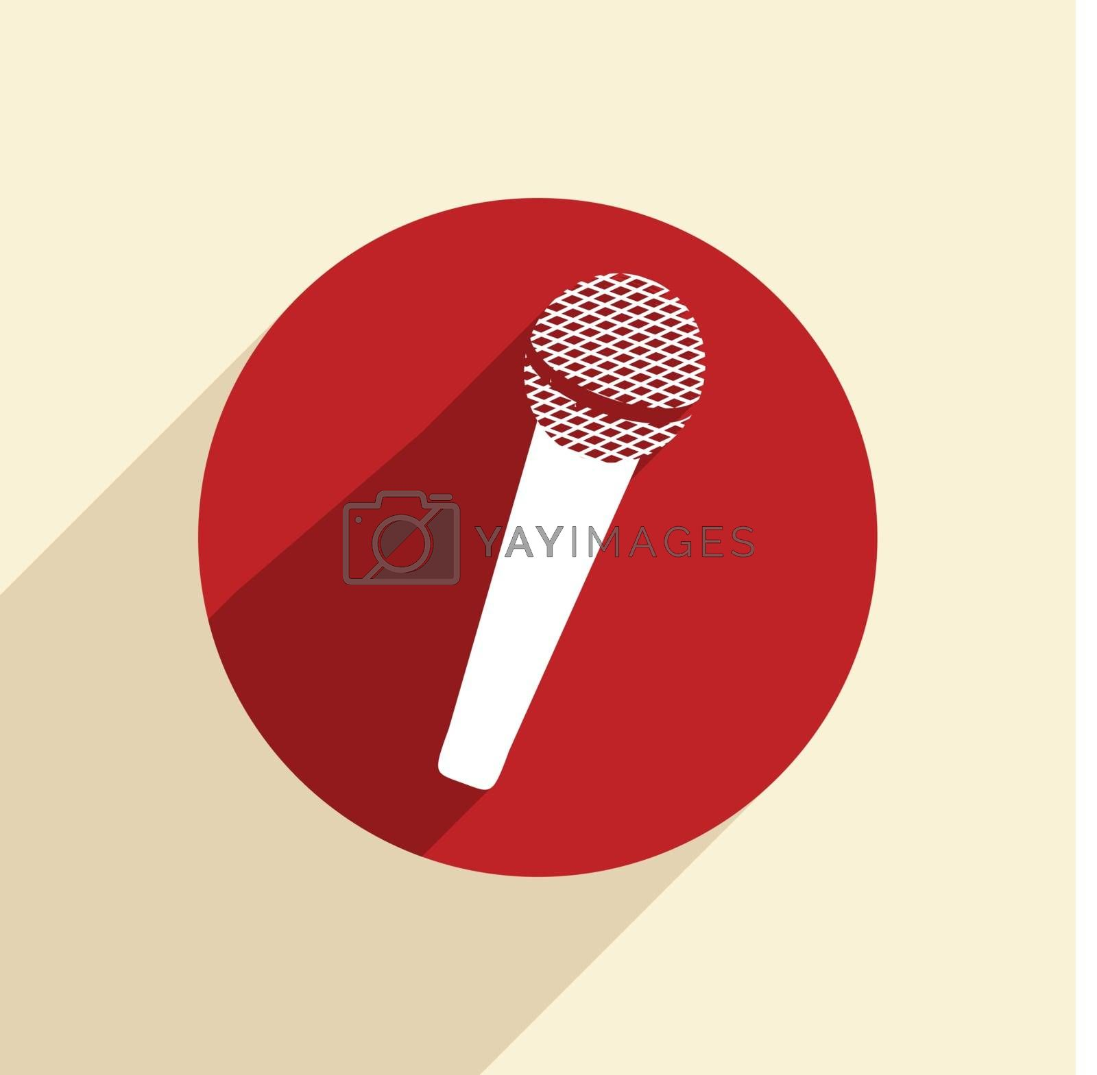 microphone sign.