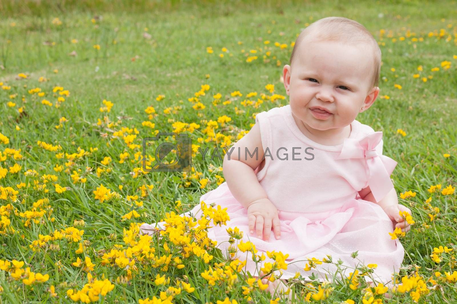 sweet baby in the field by DNFStyle