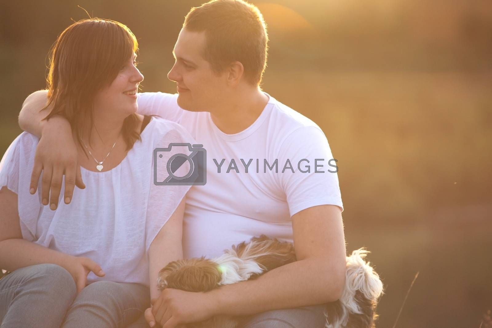 Sweet loving couple by DNFStyle