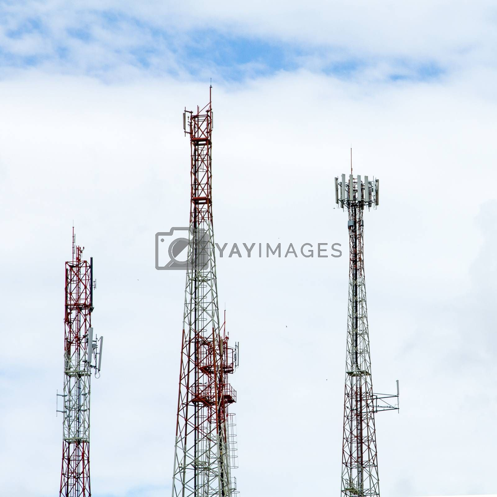 Communication tower by liewluck