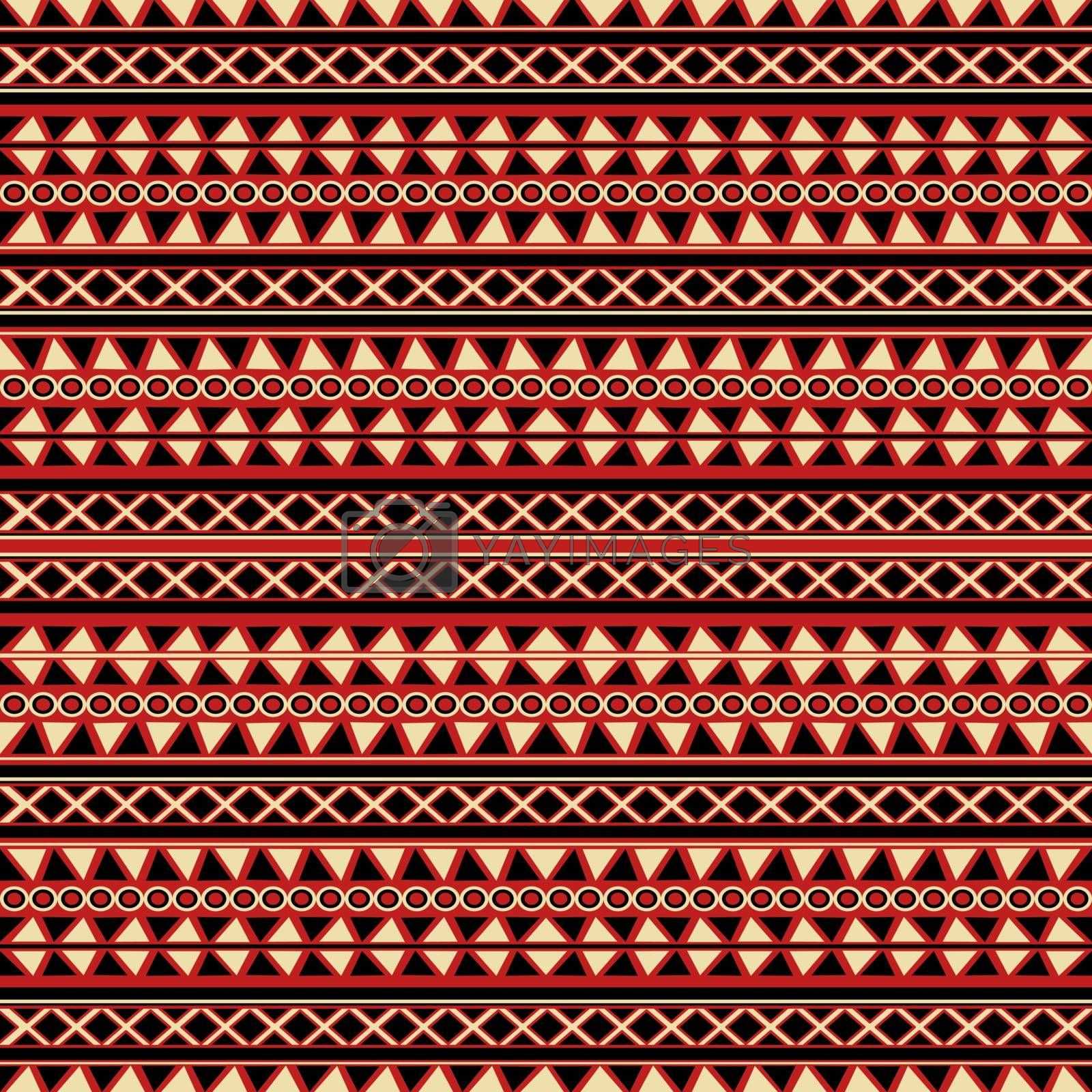 Decorative tribal background by Lirch