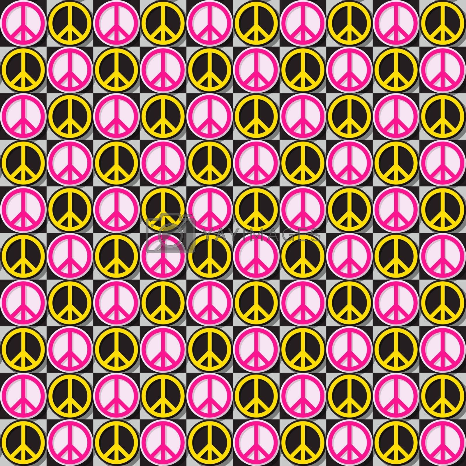 Flower Power , seamless repeating