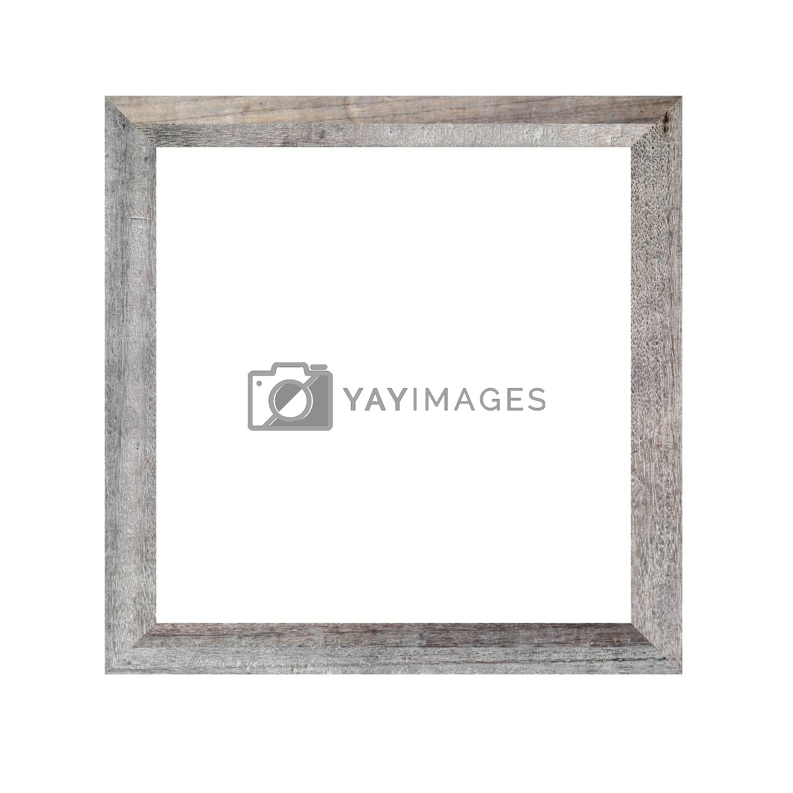 Picture frame of solid wood. by PiyaPhoto