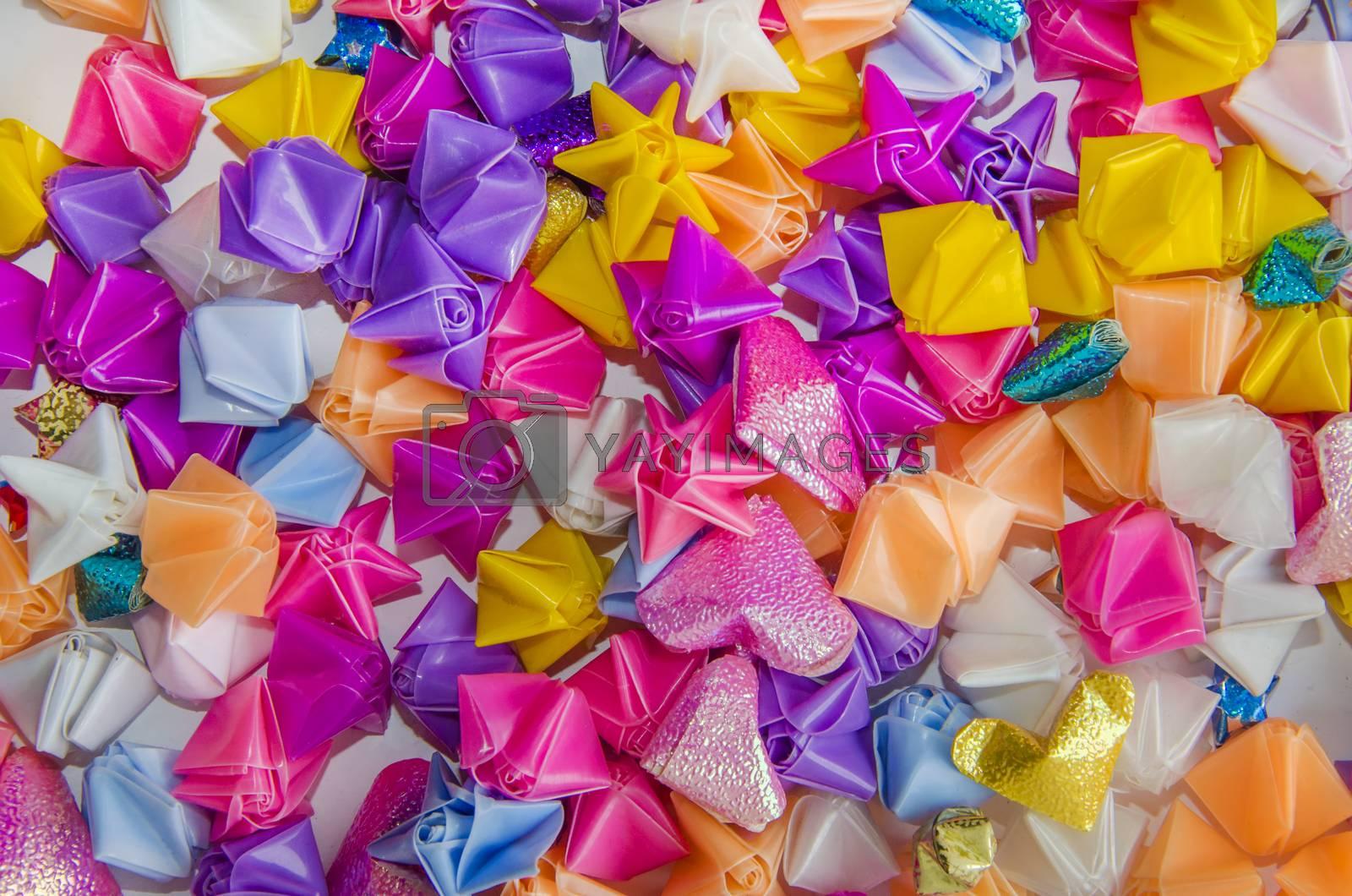 a plastic star