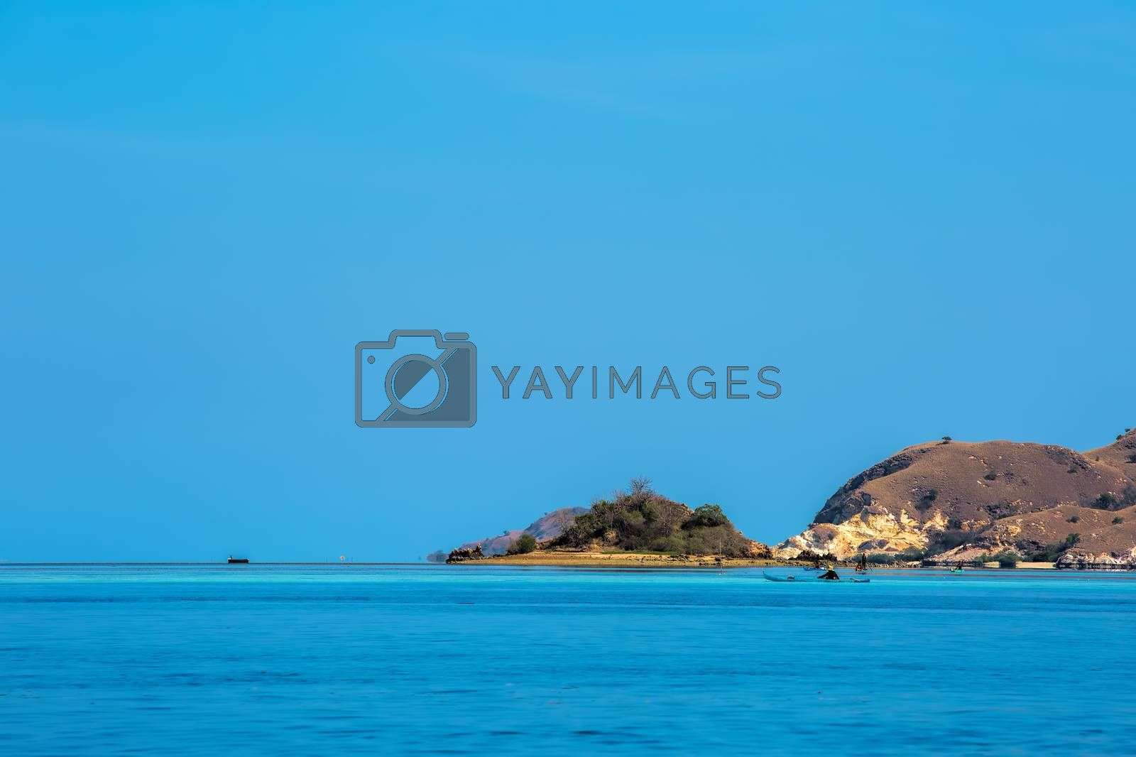 The beautiful nature of Komodo national park