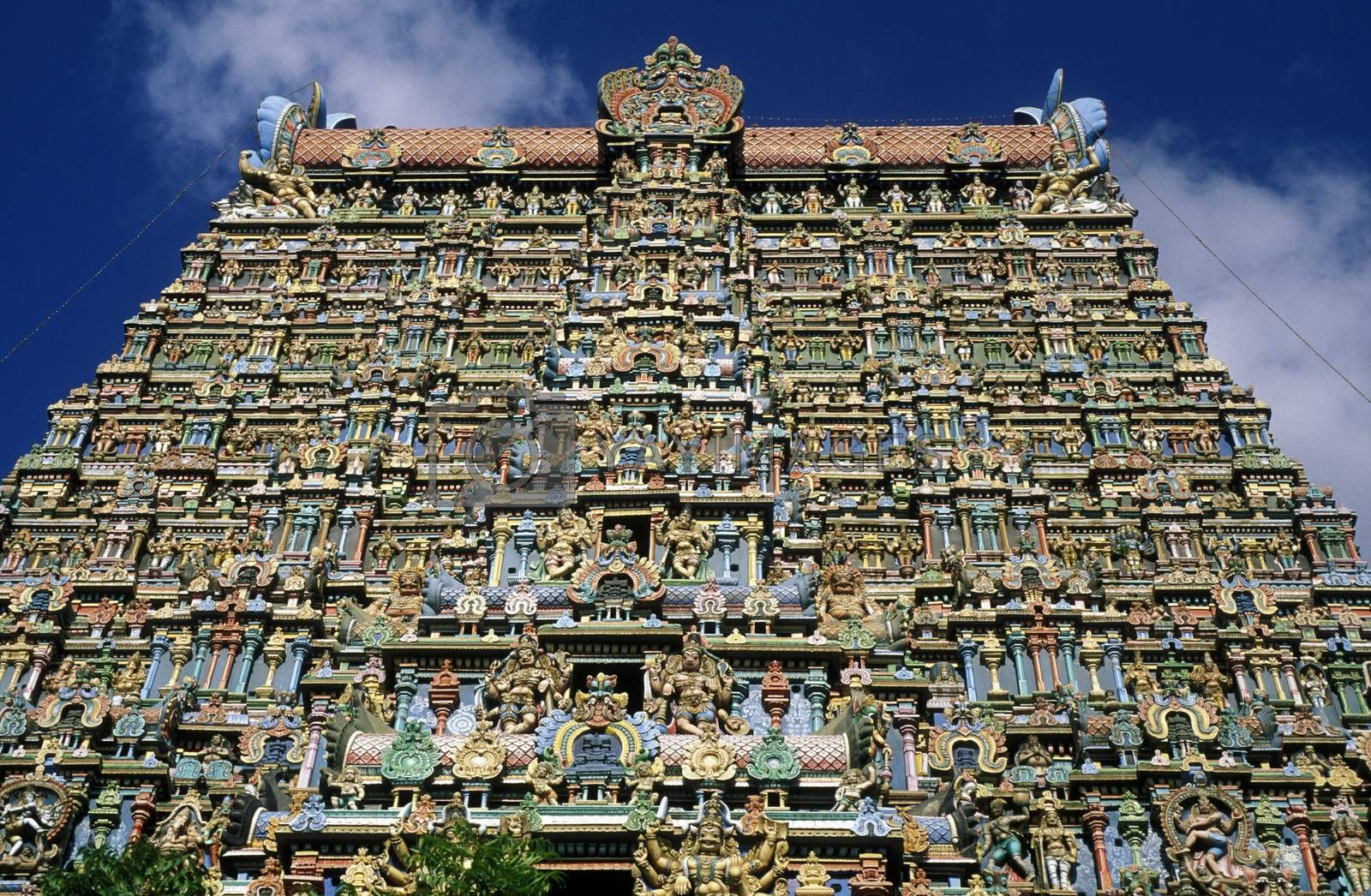 Royalty free image of ASIA INDIA MADURAI by urf