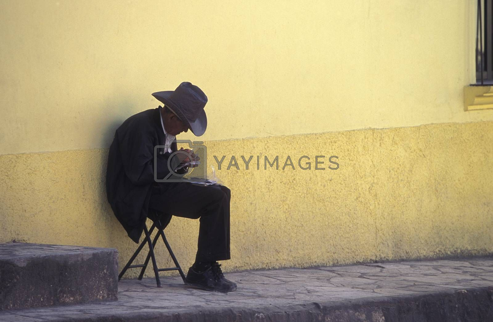 Royalty free image of LATIN AMERICA HONDURAS COPAN by urf